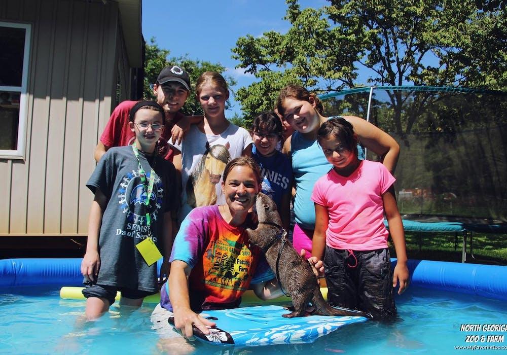 Otter Splash Overnight Teen Camp 16 8